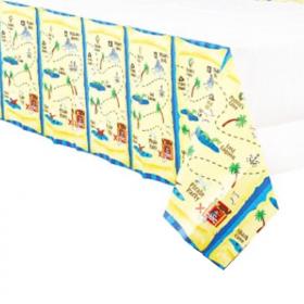 Pirate Treasure Paper Tablecover 1.37m x 2.59m