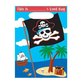 Pirate Treasure Party Bags, pk8