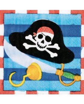 Pirate Treasure Beverage Napkins
