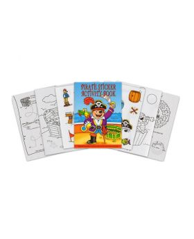 Pirate Mini Sticker Activity Book