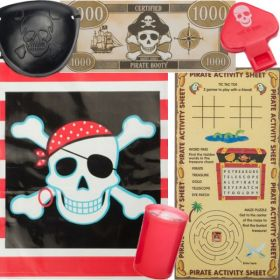 Pirate Pre Filled Party Bags (no.1), one supplied