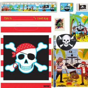 Pirate Treasure Filled Party Bags (no. 2) One Supplied