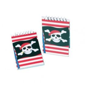 Pirate Notebook 12pk