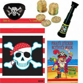 Pirate Treasure Filled Party Bags (no. 1) One Supplied
