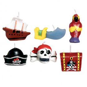 Pirate Treasure Mini Mould Candles