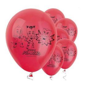 "PJ Masks Latex Balloons "", pk10"