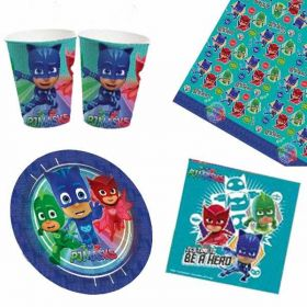 PJ Masks Party Tableware Pack for 8