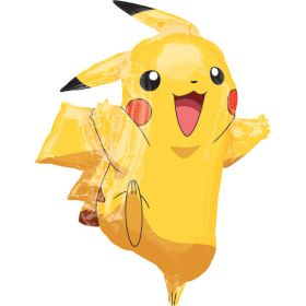 Pokémon Pikachu Supershape Foil Balloon 31''