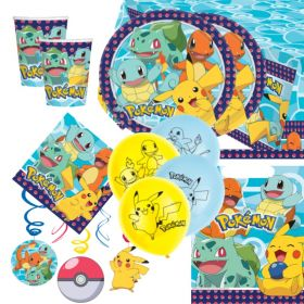 Pokemon Party Supplies Kit