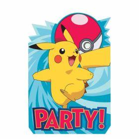 Pokemon Invitations