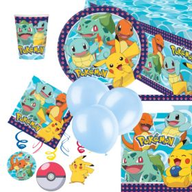 Pokemon Party Supplies Kits