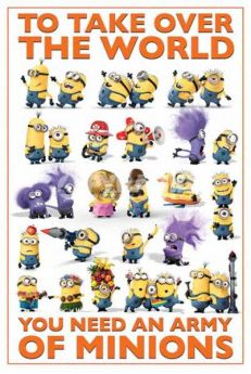 Minions Army Poster
