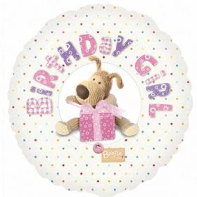 Birthday Girl Boofle Foil Balloon