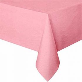 Pretty Pink Plastic Tablecover