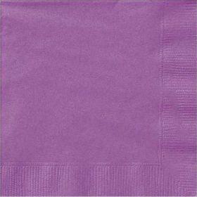 Pretty Purple Lunch Napkins pk20