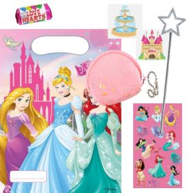 Filled Disney Princess Party Bags