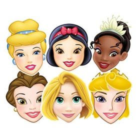 Disney Princess Assorted Paper Masks