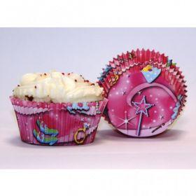 Princess Cake Cases 50pk