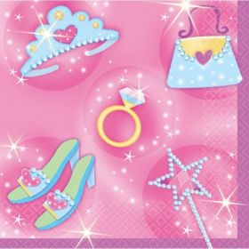 Princess Party Napkins 16pk