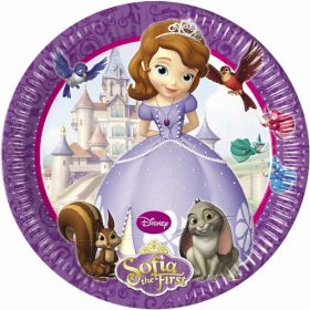 Disney Sofia The First Party Paper Party Plates 8pk