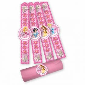 Disney Princess Sparkle Napkin Ring Bracelets pk8