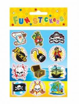 Pirate Fun Stickers