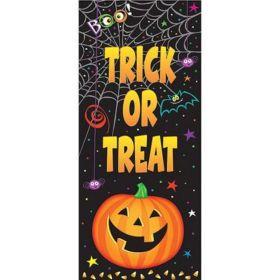 Pumpkin Pals Plastic Door Poster
