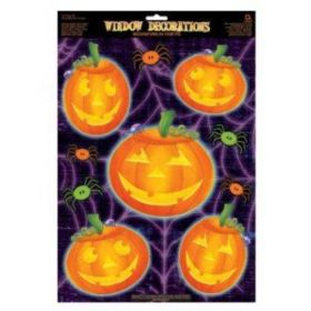 Pumpkin Vinyl Window Decoration