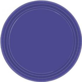 New Purple Paper Plates pk8