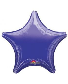 Metallic Purple Star Foil Balloon