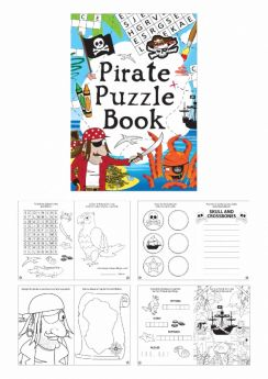 Pirate Fun Puzzle Book