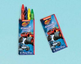Blaze and the Monster Machines Crayons pk12