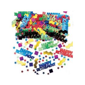 Rocking Retirement Multi Metallic Mix Confetti 14g