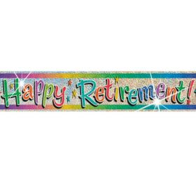 Happy Retirement Banners