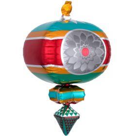 "Retro Ornament UltraShape Foil Balloon 23"""