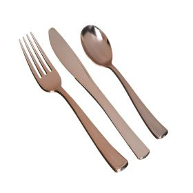 Rose Gold Premium Assorted Cutlery, pk32