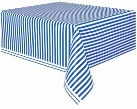 Royal Blue Stripe Tablecover