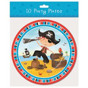 Pirate Plates pk10
