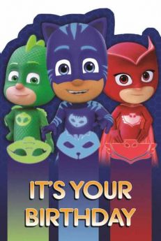 PJ Masks Favourite Birthday Card