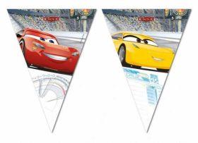 Cars 3 Plastic Flag Banner