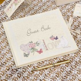 Guest Book With Love