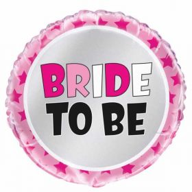 Bride To Be Foil Balloon for Helium inflation