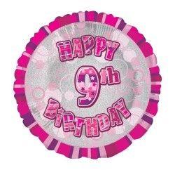 Pink Prism 9 Balloon