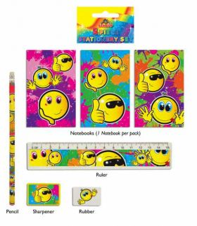 Smile Stationery Set
