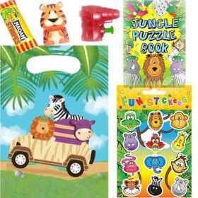 Safari Adventure Pre Filled Party Bags (no. 2), one supplied