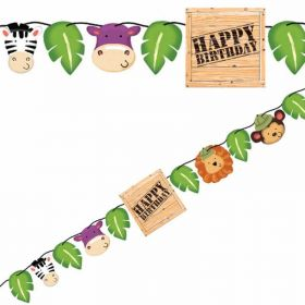 Safari Adventure Party Banner