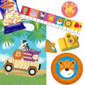 Safari Adventure Pre Filled Party Bags (no. 1), one supplied