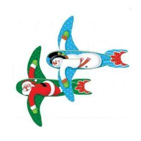 Santa & Snowmen Gliders