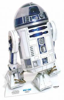 Star Wars R2-D2 Mini Cutout 91cm
