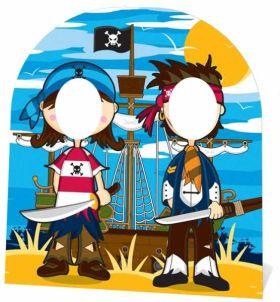 Pirate Friends Stand In Cutout 1.2m